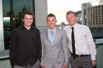 -  Nick with brothers Brodie & Josh