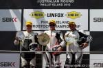 Nicholas wins round 1 ASBK Prostock 1000 -  Image courtesy of Andrew Gosling - tgbsport