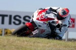 Nick racing at Philip Island, Round 1 - 